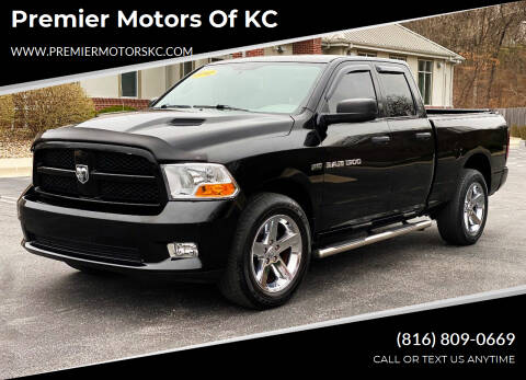 2012 RAM Ram Pickup 1500 for sale at Premier Motors of KC in Kansas City MO