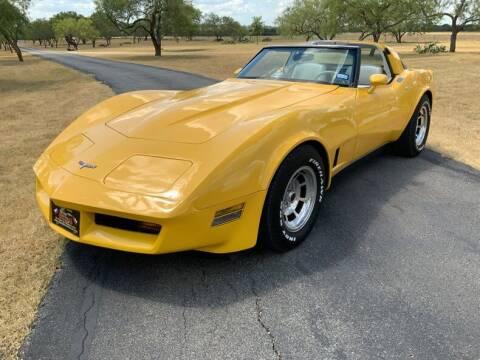 1980 Chevrolet Corvette for sale at STREET DREAMS TEXAS in Fredericksburg TX