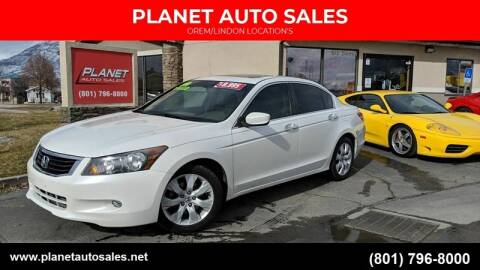 2010 Honda Accord for sale at PLANET AUTO SALES in Lindon UT