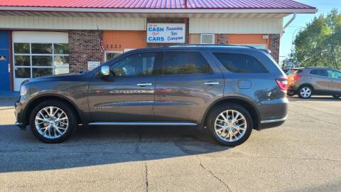 2014 Dodge Durango for sale at Twin City Motors in Grand Forks ND