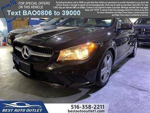 2016 Mercedes-Benz CLA for sale at Best Auto Outlet in Floral Park NY