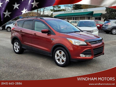 2015 Ford Escape for sale at Windham Motors in Florence SC
