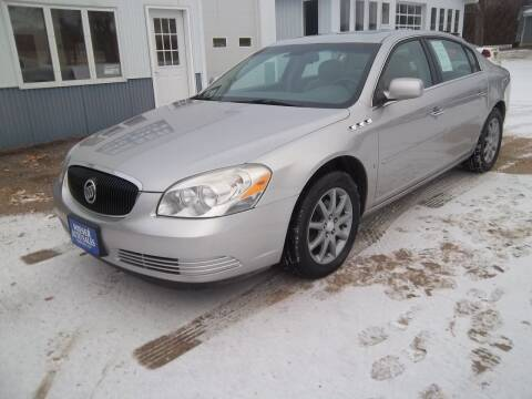 2007 Buick Lucerne for sale at Wieser Auto INC in Wahpeton ND