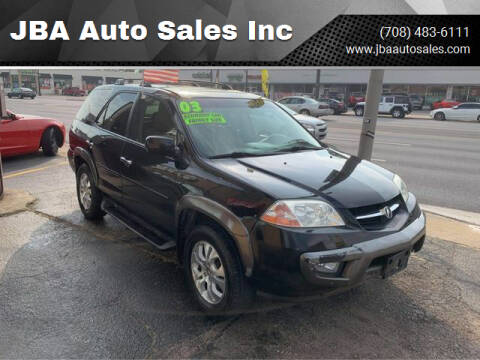 2003 Acura MDX for sale at JBA Auto Sales Inc in Stone Park IL