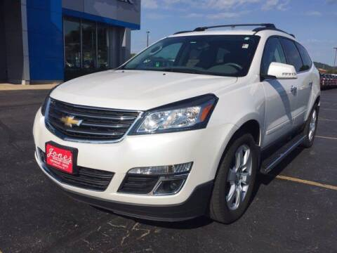2017 Chevrolet Traverse for sale at Jones Chevrolet Buick Cadillac in Richland Center WI