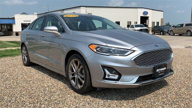 2020 Ford Fusion Hybrid for sale in Indianola, IA