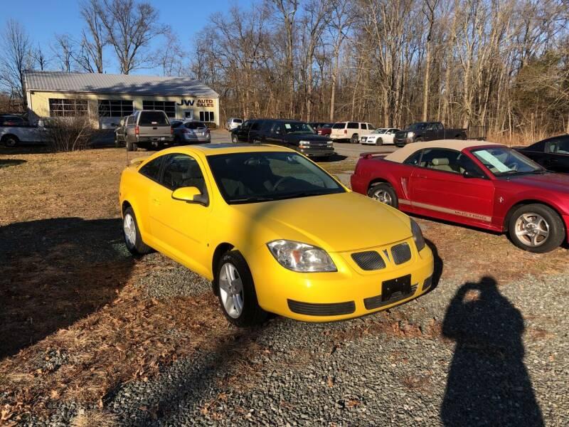 2007 Pontiac G5 for sale at J.W. Auto Sales INC in Flemington NJ