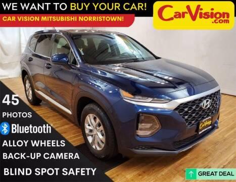 2019 Hyundai Santa Fe for sale at Car Vision Mitsubishi Norristown in Trooper PA