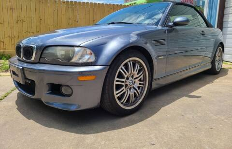 2002 BMW M3 for sale at Mr Cars LLC in Houston TX