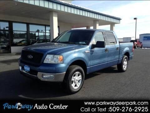 2004 Ford F-150 for sale at PARKWAY AUTO CENTER AND RV in Deer Park WA