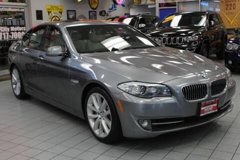 2012 BMW 5 Series for sale at Windy City Motors in Chicago IL