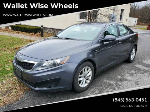 2011 Kia Optima for sale at Wallet Wise Wheels in Montgomery NY