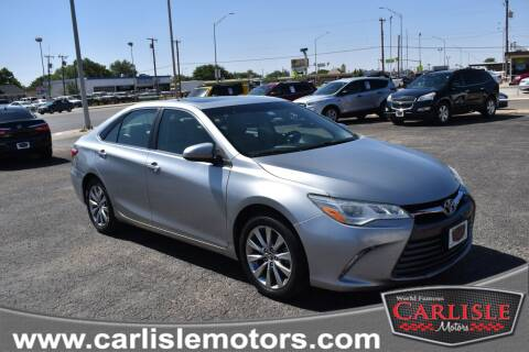 2015 Toyota Camry for sale at Carlisle Motors in Lubbock TX