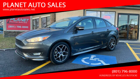 2015 Ford Focus for sale at PLANET AUTO SALES in Lindon UT