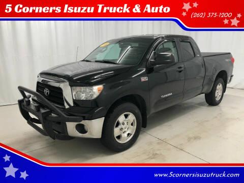 2008 Toyota Tundra for sale at 5 Corners Isuzu Truck & Auto in Cedarburg WI