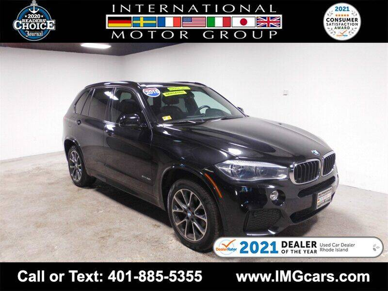2015 BMW X5 for sale at International Motor Group in Warwick RI