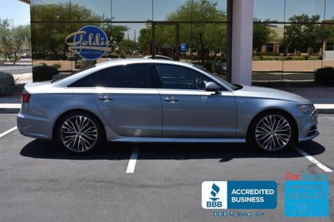 2016 Audi A6 for sale at GOLDIES MOTORS in Phoenix AZ