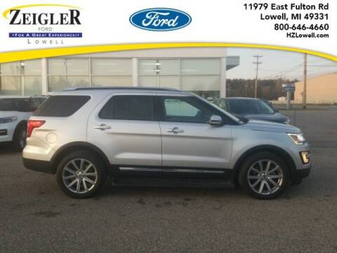 2016 Ford Explorer for sale at Zeigler Ford of Plainwell- michael davis in Plainwell MI