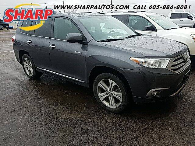 2013 Toyota Highlander for sale at Sharp Automotive in Watertown SD