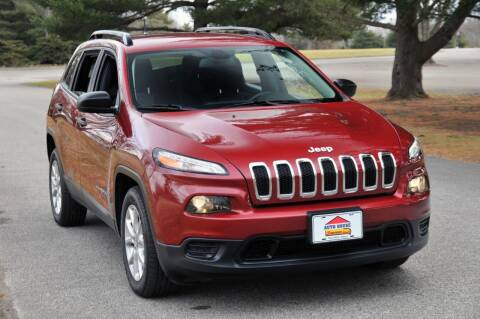 2016 Jeep Cherokee for sale at Auto House Superstore in Terre Haute IN