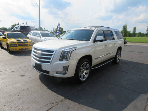 2015 Cadillac Escalade ESV for sale at A to Z Auto Financing in Waterford MI