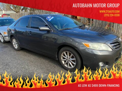 2010 Toyota Camry for sale at Autobahn Motor Group in Willow Grove PA