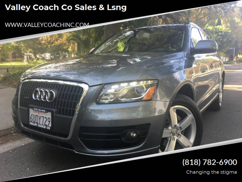 2012 Audi Q5 for sale at Valley Coach Co Sales & Lsng in Van Nuys CA