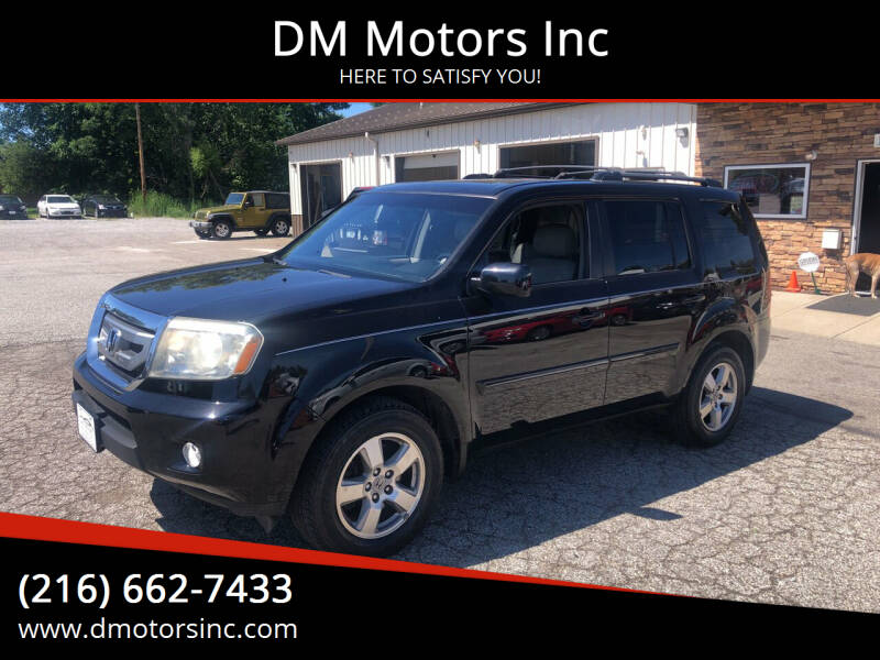 2011 Honda Pilot for sale at DM Motors Inc in Maple Heights OH
