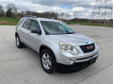 2010 GMC Acadia for sale at Quality Motors Inc in Indianapolis IN