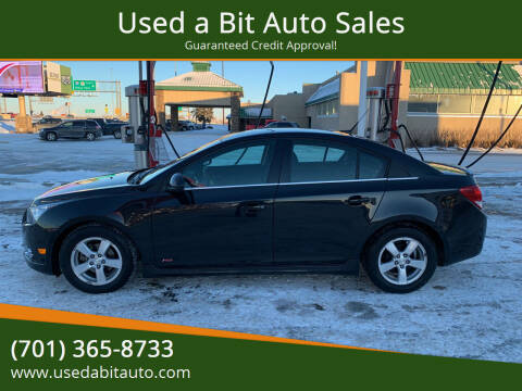 2012 Chevrolet Cruze for sale at Used a Bit Auto Sales in Fargo ND