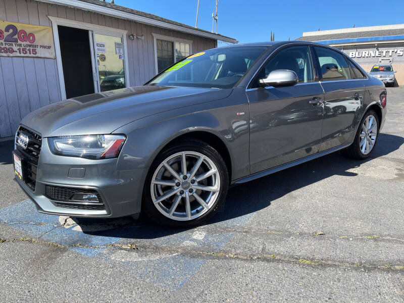 2015 Audi A4 for sale at Cars 2 Go in Clovis CA