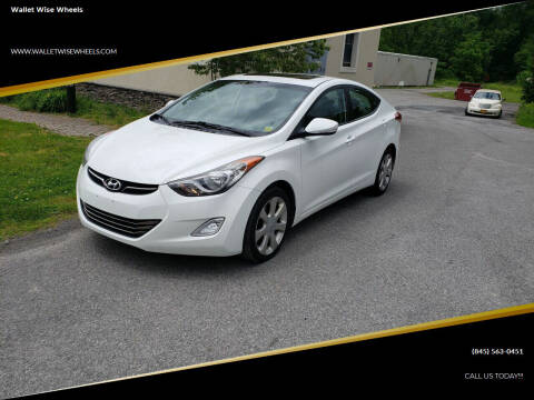2011 Hyundai Elantra for sale at Wallet Wise Wheels in Montgomery NY