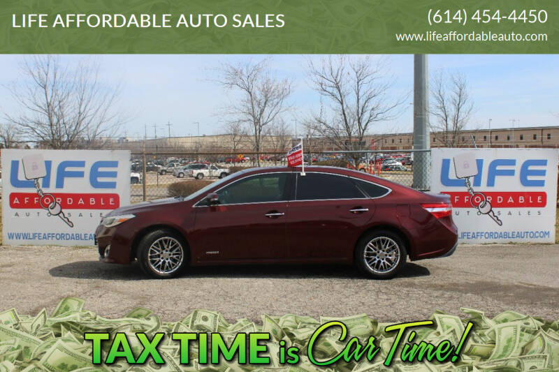 2014 Toyota Avalon Hybrid for sale at LIFE AFFORDABLE AUTO SALES in Columbus OH