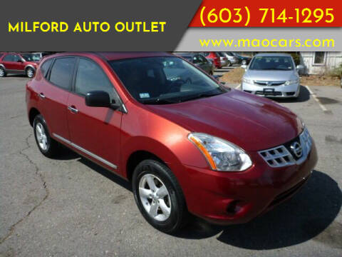2012 Nissan Rogue for sale at Milford Auto Outlet in Milford NH