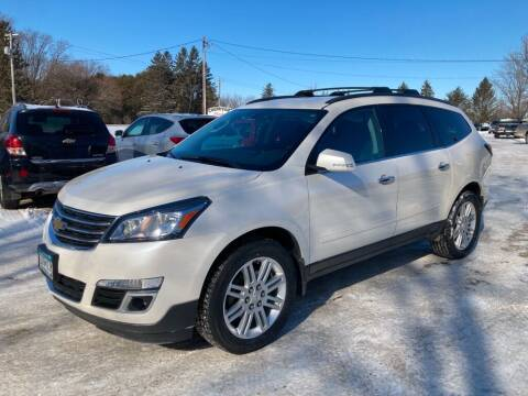 2014 Chevrolet Traverse for sale at COUNTRYSIDE AUTO INC in Austin MN