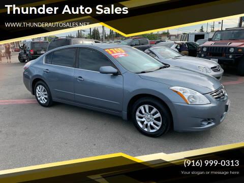 2012 Nissan Altima for sale at Thunder Auto Sales in Sacramento CA