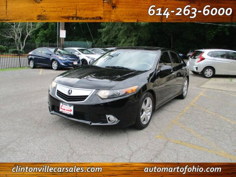 2013 Acura TSX for sale at Clintonville Car Sales - AutoMart of Ohio in Columbus OH