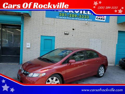 2011 Honda Civic for sale at Cars Of Rockville in Rockville MD