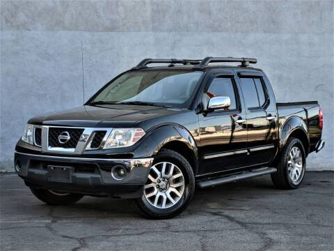 2012 Nissan Frontier for sale at Divine Motors in Las Vegas NV