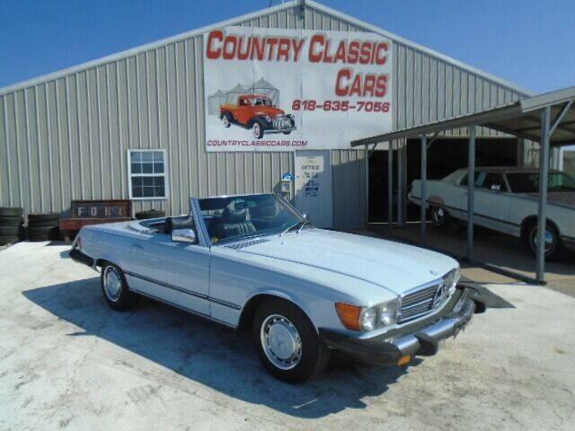 1977 Mercedes-Benz 450 SL for sale in Staunton, IL