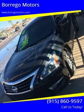 2013 Nissan Altima for sale at Borrego Motors in El Paso TX