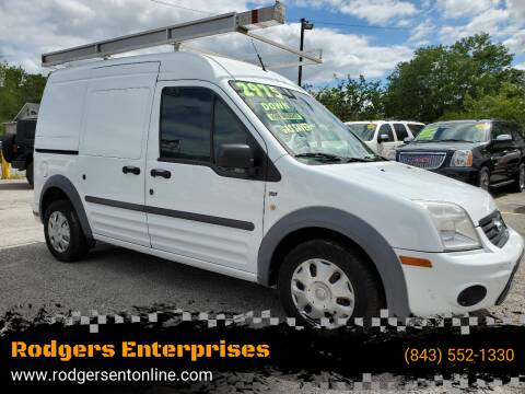 2013 Ford Transit Connect for sale at Rodgers Enterprises in North Charleston SC