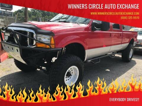 2000 Ford F-350 Super Duty for sale at WINNERS CIRCLE AUTO EXCHANGE in Ashland KY