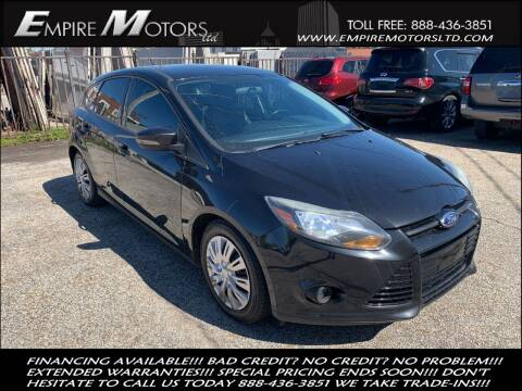 2013 Ford Focus for sale at Empire Motors LTD in Cleveland OH