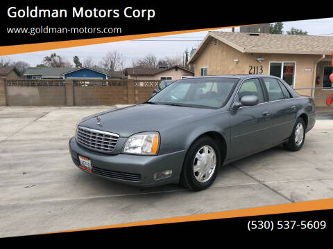 2005 Cadillac DeVille for sale at Goldman Motors Corp in Stockton CA