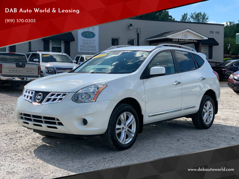 2013 Nissan Rogue for sale at DAB Auto World & Leasing in Wake Forest NC