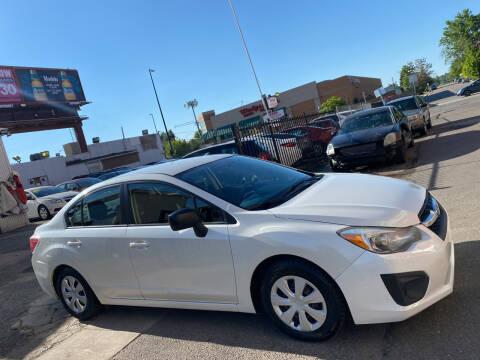 2014 Subaru Impreza for sale at Sanaa Auto Sales LLC in Denver CO