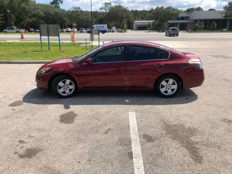 2007 Nissan Altima for sale at BSS AUTO SALES INC in Eustis FL