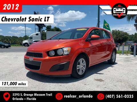 2012 Chevrolet Sonic for sale at Real Car Sales in Orlando FL