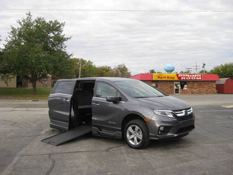 2019 Honda Odyssey for sale at AUTOFARM MINIVAN SUPERSTORE in Middletown IN